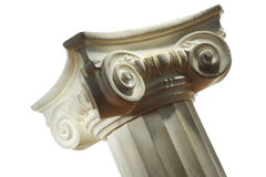 Greek column Royalty Free Stock Photo