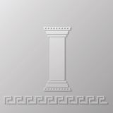 Greek column Stock Image