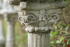 Greek column. Stock Image