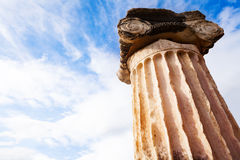 The Greek column Stock Image