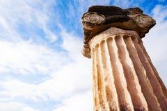 The Greek column Stock Image