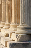Greek columns Stock Photos