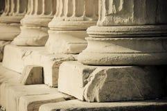 Greek columns Stock Image
