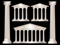 Greek columns Royalty Free Stock Image