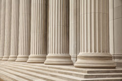 Greek Columns Royalty Free Stock Photo