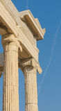 Greek columns, acropolis, athens Royalty Free Stock Photography
