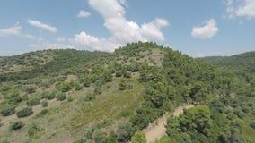 Greek Countryside stock footage