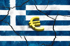 Greek crash Stock Photos
