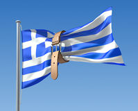 Greek crisis Royalty Free Stock Image
