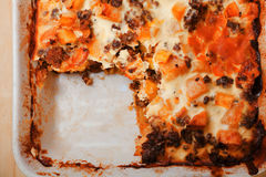 Greek cuisine - moussaka Stock Images