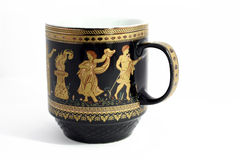Greek cup stock photo