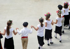 Greek Dance. Children dancing at a greek festival Royalty Free Stock Photography