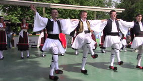 Greek dance stock video footage