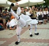 Greek Dancer Royalty Free Stock Photo