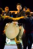 Greek dancers. International folklor festival Veliko Turnovo Bulgaria photo taken on July 29 2009 Stock Images