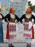 Greek Dancers Royalty Free Stock Photos
