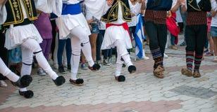Greek Dancing Stock Image