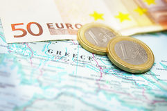 Greek debt crisis Royalty Free Stock Photography