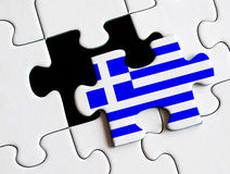 Greek Debt Crisis Royalty Free Stock Photo