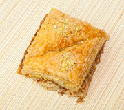 Greek desert Baklava Royalty Free Stock Image