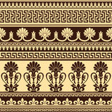 Greek design. Vector seamless background with greek design pattern Stock Image
