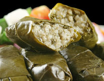 Greek Dolmades Stock Photo
