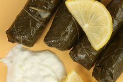 Greek dolmathes Stock Photography