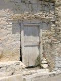 Greek Door Stock Image