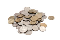 Greek drachma coins Royalty Free Stock Photography