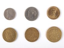 Greek drachmas Stock Photos