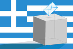 Greek elections Stock Images