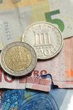 Greek euro crisis Royalty Free Stock Image