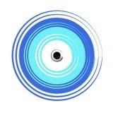 Greek evil eye vector - symbol of protection Stock Images