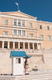 Greek Evzone, Athens Greece Royalty Free Stock Images