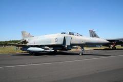 Greek F-4 royalty free stock photo
