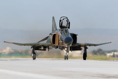 Greek F-4 Phantom fighter jet Stock Photos