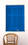 Greek facade  Stock Photos