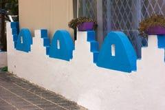Greek facade  Stock Photography