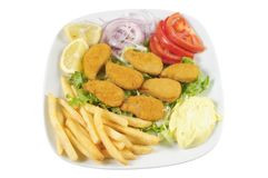Greek fastfood Royalty Free Stock Image