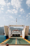 Greek ferry Royalty Free Stock Images