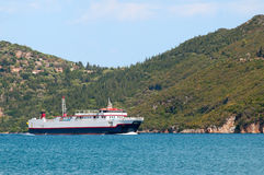 Greek ferry Stock Images