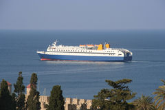 Greek Ferry Stock Image