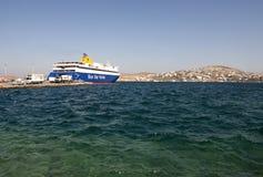 Greek ferry royalty free stock photos