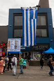 Greek Festival in Toronto Royalty Free Stock Images