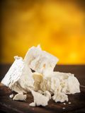 Greek feta cheese royalty free stock photo