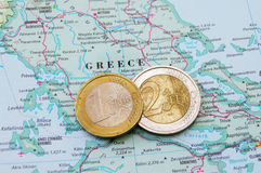 Greek finance Royalty Free Stock Image