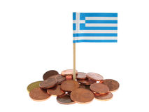 Greek Financial Crisis Royalty Free Stock Images