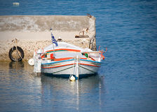 Greek Fishing Boat Royalty Free Stock Photo