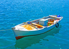 Greek fishing boat Royalty Free Stock Image