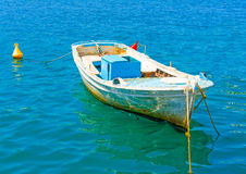 Greek fishing boat Stock Photography